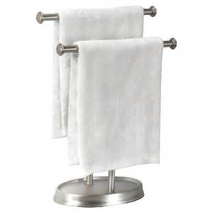 free standing towel holders umbra free standing palm towel rack reviews