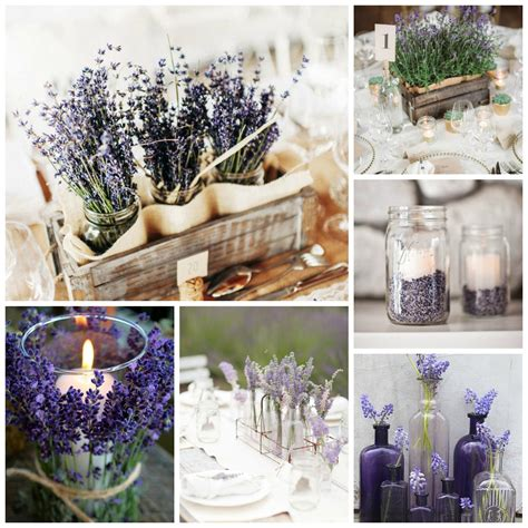 lavender wedding theme details