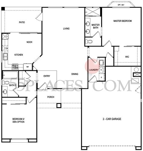 sun city summerlin floor plans monarch floorplan 1353 sq ft sun city summerlin