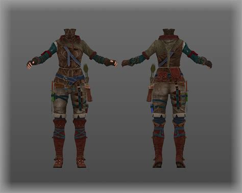 skyrim archer armor mod skyrim nexus mods and community