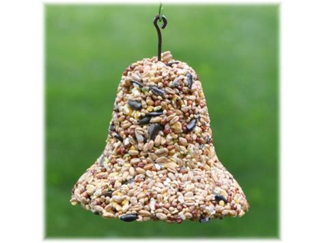 how to make seed bells for parrots bird seed mixes bird feeder