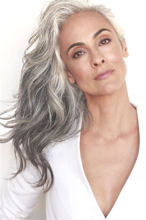 hair with grey models 25 best ideas about long silver hair on pinterest