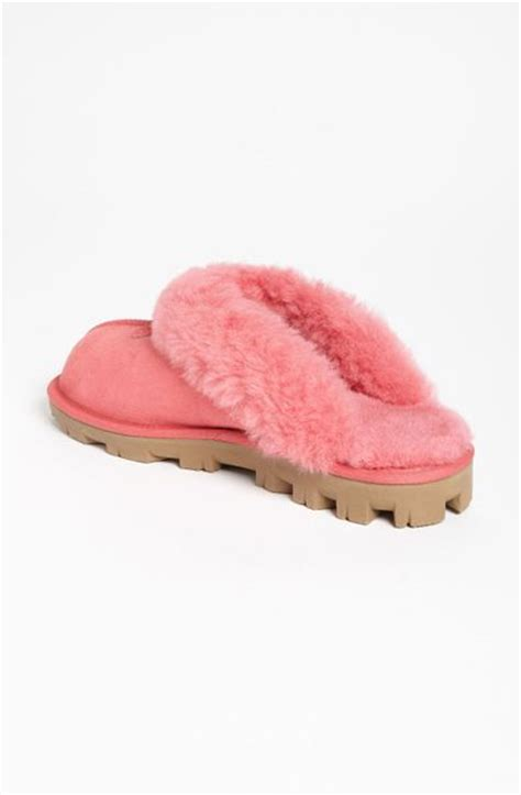 pink ugg slippers ugg coquette slipper in pink flamingo pink lyst