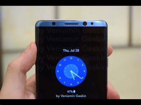 s7 edge aod themes s8 always on display on s7 edge aod how to install guide
