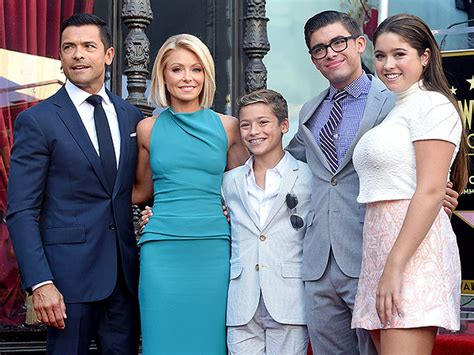 images of kelly ripa kids kelly ripa talks about living bicoastal with her family
