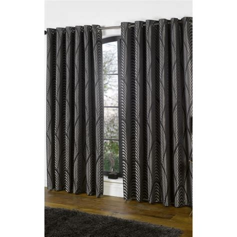 black silver curtains dakota black and silver curtains pair forever furnishings