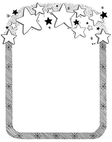 white free free coloring pages of certificate border