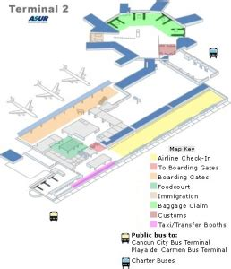Stansted Airport Floor Plan cancun airport map travel yucatan