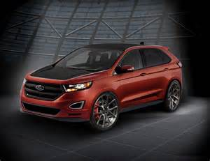 webasto ford edge at sema with custom wheels and more