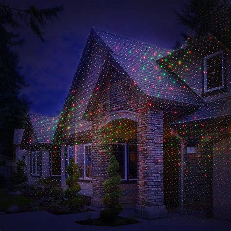 lawn star laser light christmas lights outdoor spotlight