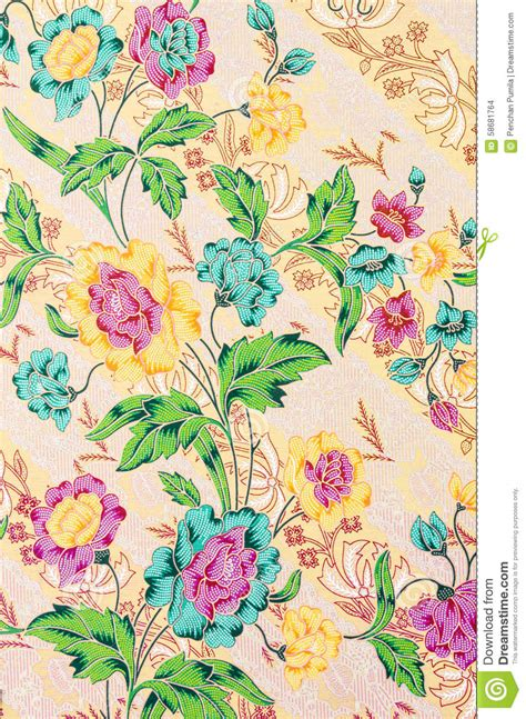 batik design in thailand traditional batik design stock photo image 58681764
