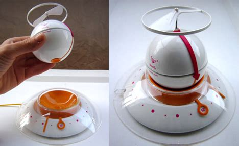 blowfly flying alarm clock by ena macana yanko design