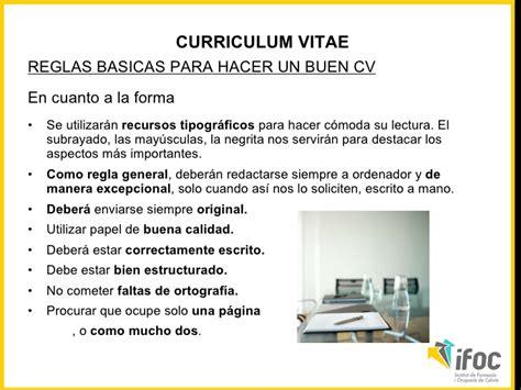 Plantillas De Curriculum Vitae Para Primer Trabajo como hacer un buen curriculum para tu primer trabajo como