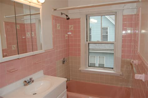 happy new year and the pink tile bathroom is back in the ville