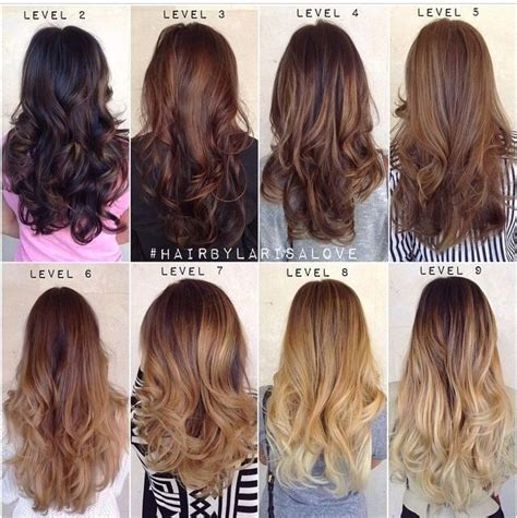 2b hair color 1000 ideas about different hair colors on