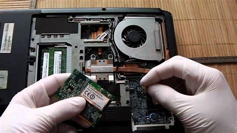 jak naprawić komputer wymiana karty wifi w laptopie acer 5100 odc 15
