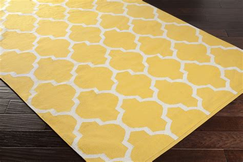 Yellow Area Rug Artistic Weavers Vogue Awlt3009 Yellow White Area Rug