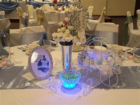 cinderella themed quinceanera decorations cinderella centerpiece wedding stuff pinterest