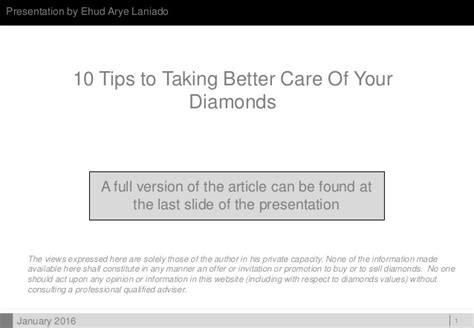 10 Tips For Being A Better Lover by 10 Tips To Taking Better Care Of Your Diamonds