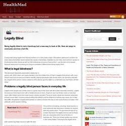 Criteria For Legally Blind writing research library pearltrees