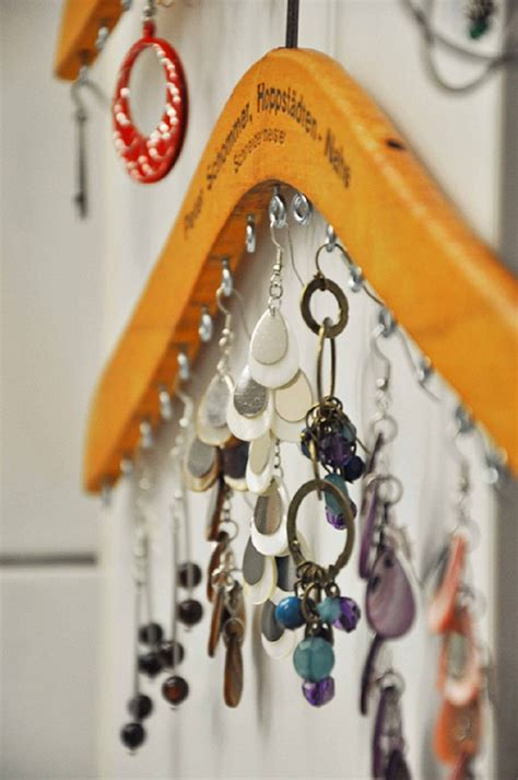 Hanger Diy - top 10 ways to store jewelry top inspired