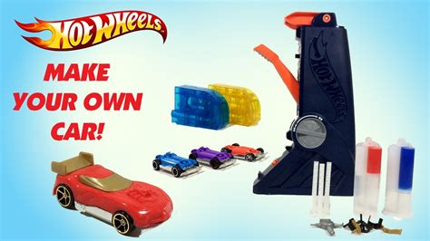 hot wheels fusion factory car maker unboxing demo review