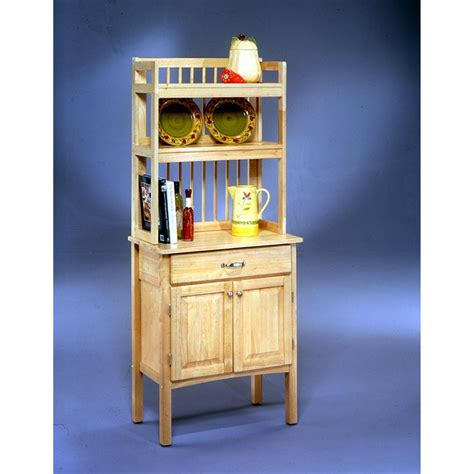 Wood Bakers Racks Furniture by Home Styles All Wood Baker S Rack 38690 Kitchen