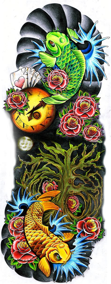 Life Sleeve By Jerrrroen On Deviantart Colorful Cool Arm New Pattern For 2011 12