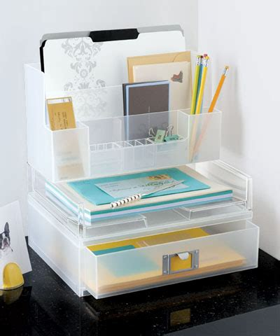 create more space on your desk ideas organization tips