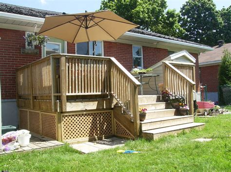 building a patio building a wooden deck a concrete one 6 steps with