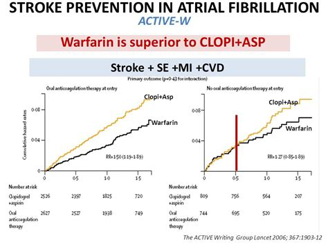 stroke prevention in atrial fibrillation in patients with triple antithrombotic therapy in cardiac patients ppt