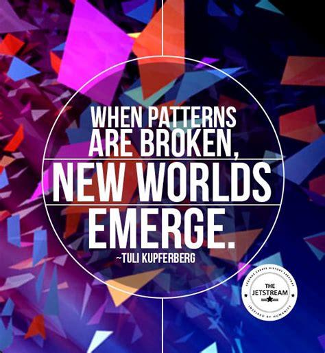 pattern magic gandhi when patterns are broken new worlds emerge julian