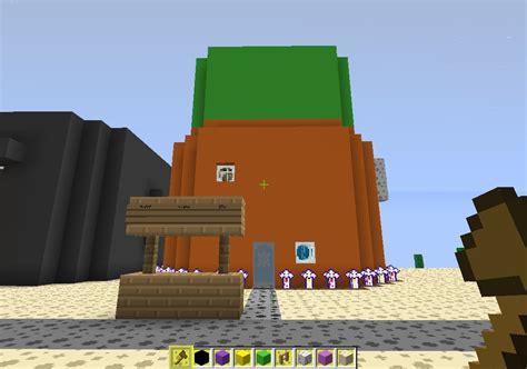 spongebobs house my bikini bottom so far minecraft project