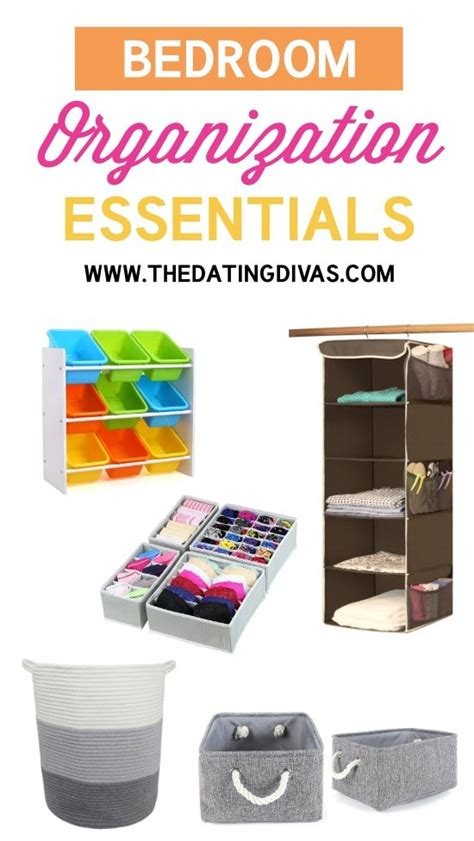 bedroom essentials 50 must haves to organize your life