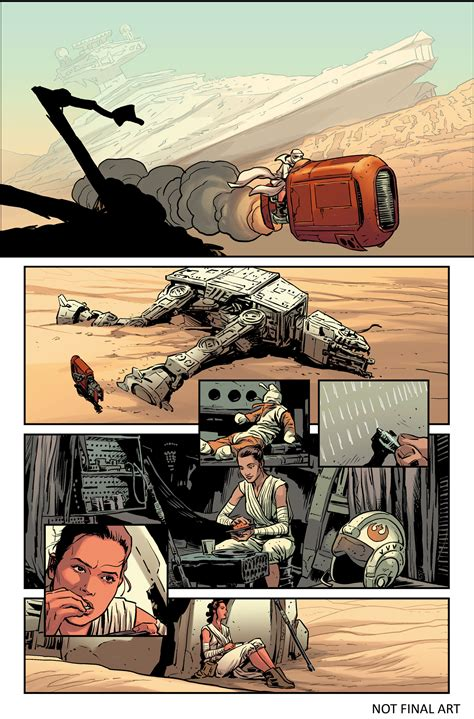 wars the awakens adaptation books look inside marvel s new wars the awakens