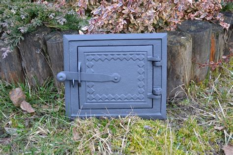 Fireplace Cleanout Door by 25 5x21 5 Cast Iron Door Clay Stove Bread Oven