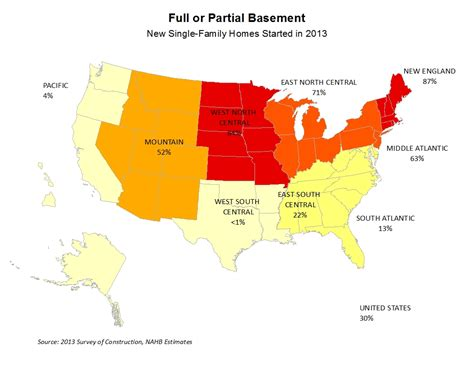 states with basements what foundations are built across the nation eye on housing