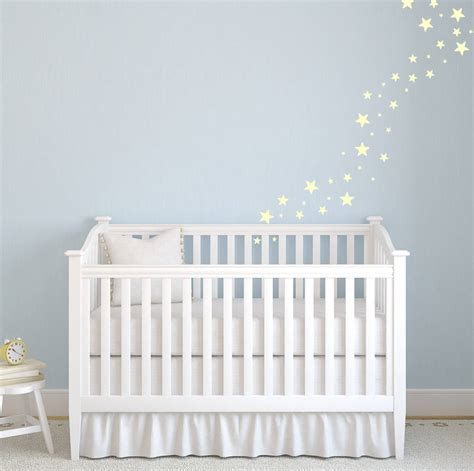 wall stickers for a nursery stunning nursery wall stickers that glow by wall