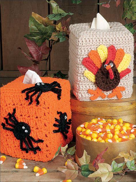 Karakter Top Knit tissue covers for thanksgiving easy crochet