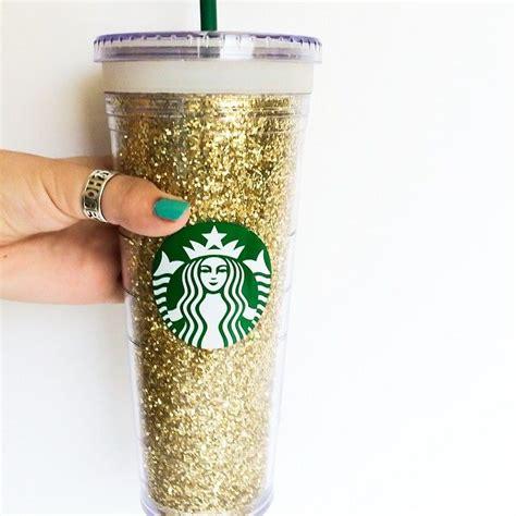 Starbucks Gliter Cold Cup diy glitter starbucks cold cup glitter cups and starbucks