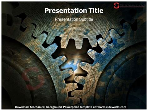 powerpoint templates for mechanical engineering presentation mechanical background powerpoint template