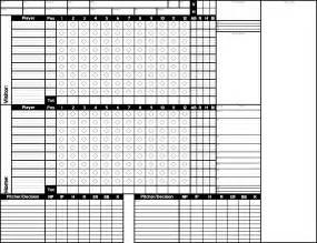 free baseball score sheets scoresheet master 1