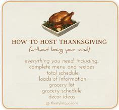 how to host a great dinner hosting thanksgiving on thanksgiving