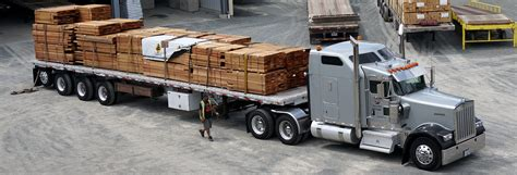 understanding trailer types t p trucking flatbed and