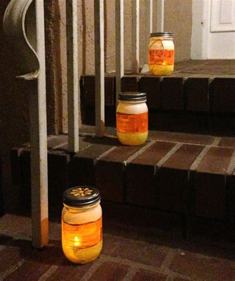 best outdoor luminaries corn jar luminaries make and takes