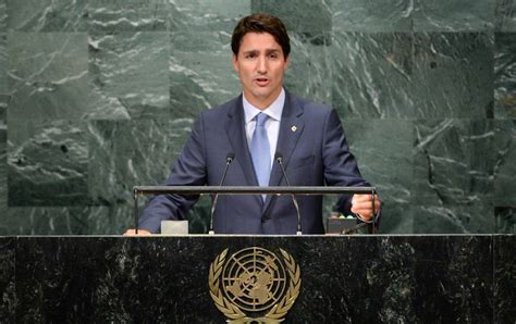 Canadian Addresses Lookup Speech Canadian Pm Justin Trudeau Addresses Un General Assembly