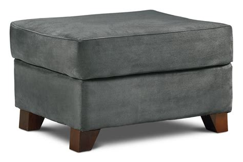 dark gray ottoman collier ottoman dark grey leon s