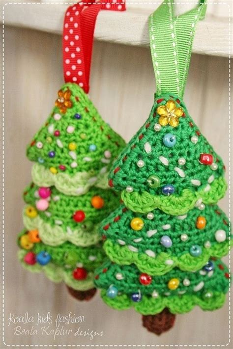 crochet pattern christmas tree ornament ebook pdf pattern