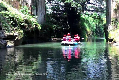 sungai elo magelang tempat rafting  pemula tempat