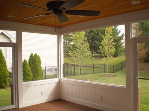 screen room trim traditional porch st louis by